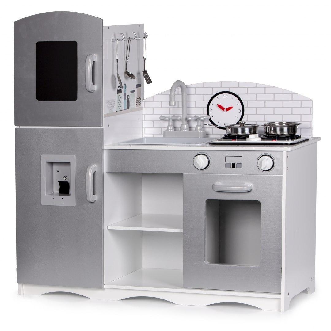 Image of Drewniana kuchnia dla dzieci xxl +dodatki Ecotoys