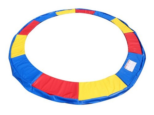 Image of Kolorowa osłona sprężyny do trampoliny 366 374 cm 12ft