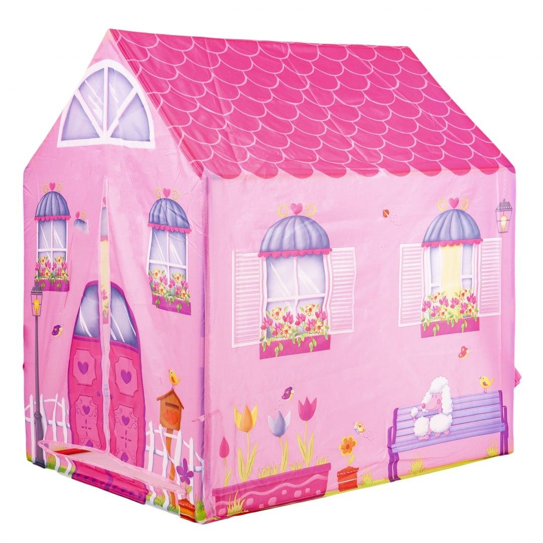 Image of Namiot różowy domek dla dzieci IPLAY