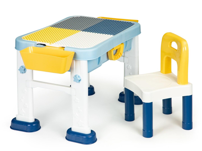 Image of Stolik do zabawy 6w1 krzesełko tablica dla dzieci