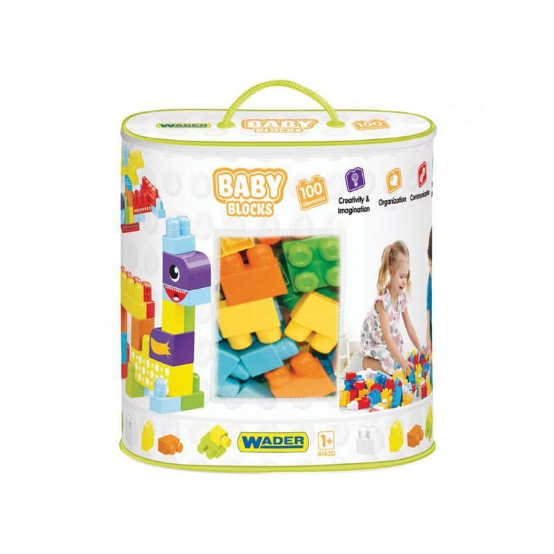 Image of Baby blocks torba 100