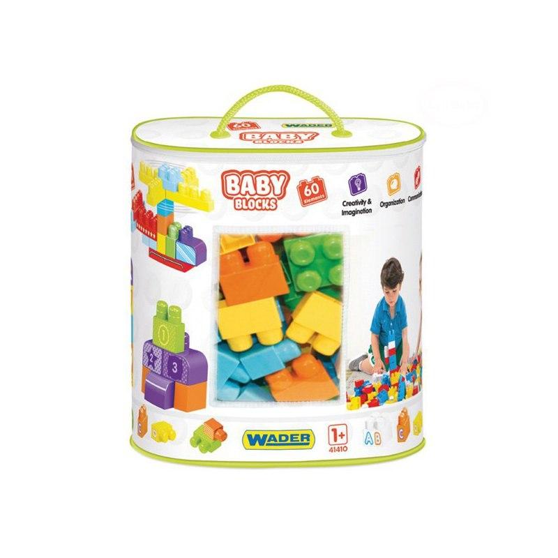 Image of Baby blocks torba 60 szt.