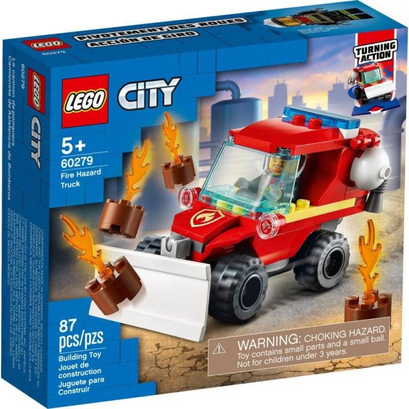 Image of City mały wóz strażacki
