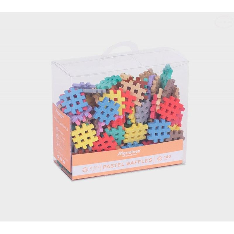 Image of Klocki wafle mini pastel 140sz
