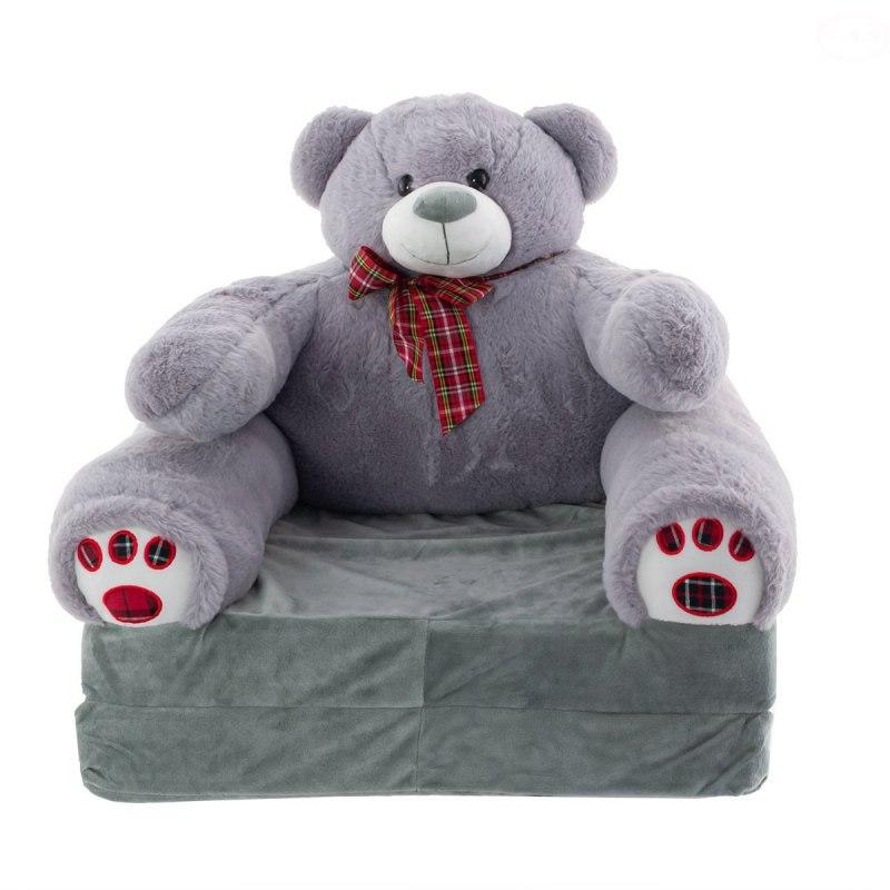 Image of Miś plusz dn15-0013-sofa grey