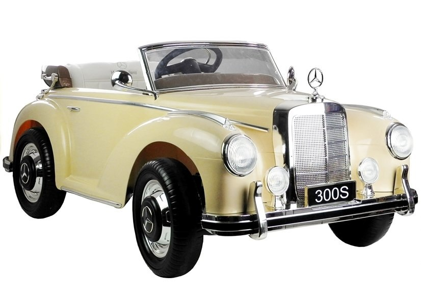Image of Auto na Akumulator Mercedes 300S Beżowy