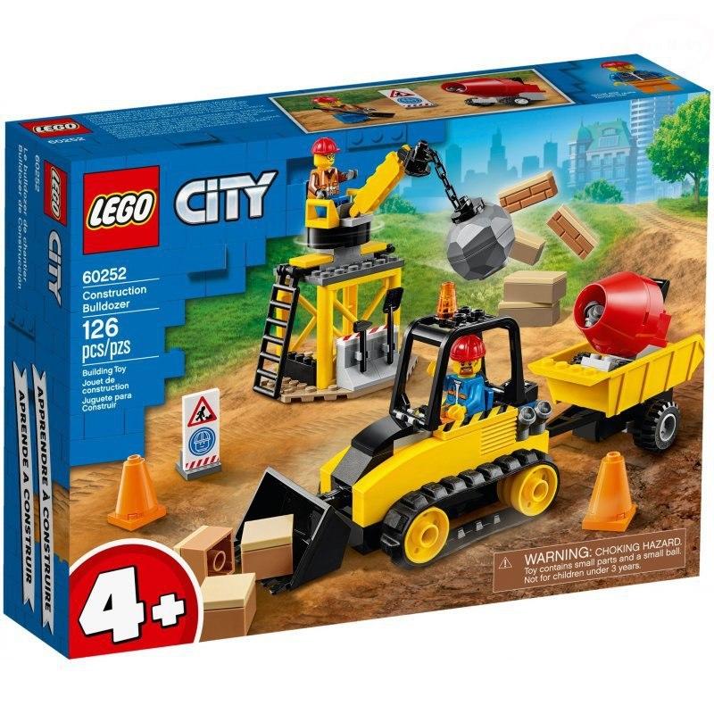 Image of City buldożer budowlany