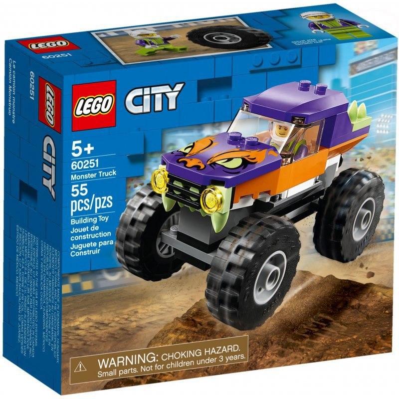 Image of City monster truck