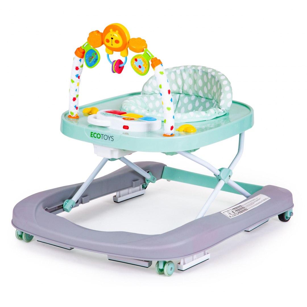 Image of Chodzik jeździk edukacyjny krzesełko zabawki