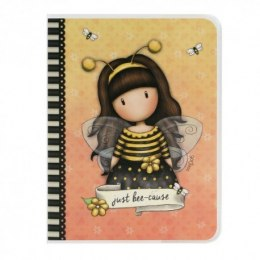 Notes a6 w plastikowej okładce santoro - gorjuss bee loved (just