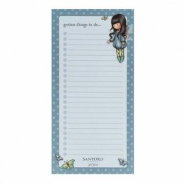 Notes z magnesem, lista - gorjuss - bubble fairy