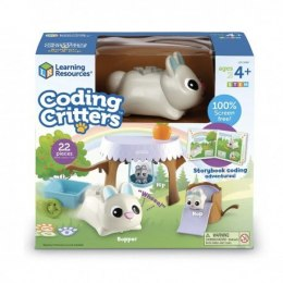 Learning resources, coding critters™ bopper, hip, hop, robot do