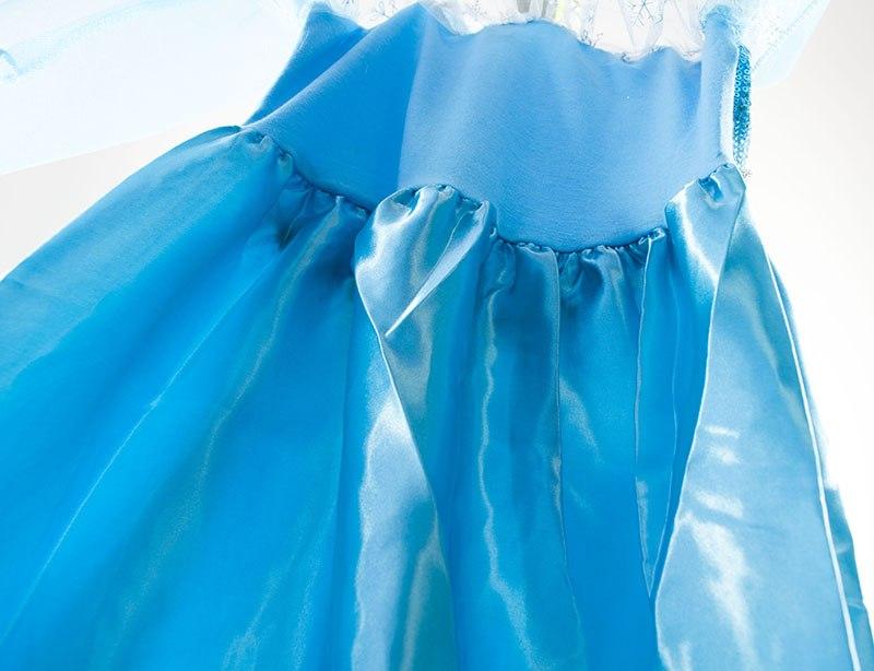 586fd40937 Kostium Elsa Kraina Lodu niebieska sukienka 140cm   SklepTodi.pl ...